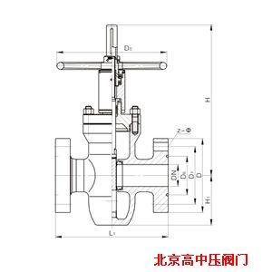 闸阀-供应手动 焊接 明杆平行式单闸板硬质合金 碳钢